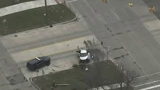 Carjacking Suspect Leads Police On 100 Mph Chase Before Violent Crash In Sterling Heights