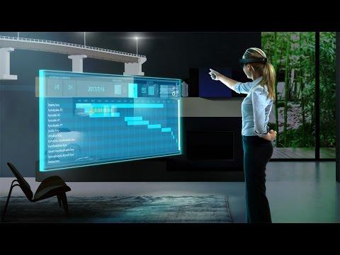 小柳建設 - Microsoft HoloLens を活用した Holostruction