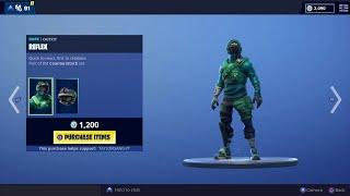 Fortnite Item Shop RARE Reflex and Instinct Skins From Bundle in Item shop!!! 3/2/19
