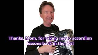 Mom's first accordion lessons