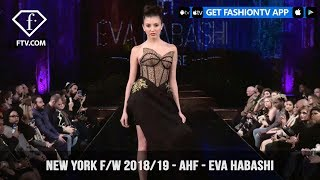 New York Fashion Week Fall/Winter 18 19 - Art Hearts Fashion - Eva Habashi | FashionTV | FTV