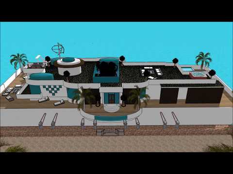 Super luxury Houseboat Hausboot in GERMANY Hamburg Berlin of the future vacation rental 5 star hire