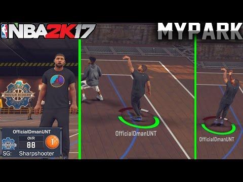 NBA 2K17 MyPark Gameplay: Sharpshooters Don