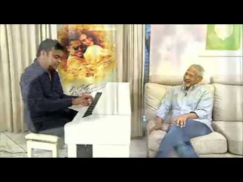 A R Rahman plays Chinna Chinna Aasai for Mani Ratnam | Kaatru Veliyidai trailer launch