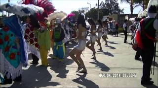 Carnaval Papalotla Tlaxcala 2014 barrio de Xaltipa