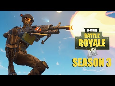 Week 9 Challenges and New LMG! - Fortnite Battle Royale Gameplay - Xbox One X