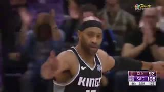 Vince Carter Turns Back the Clock with Big Night as Kings Beat Cavs