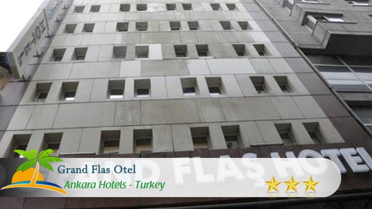 Grand flas otel ankara hotels turkey youtube for Grand hamit hotel ankara