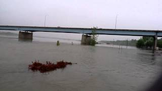 6/14/11 Missouri River Flood Update from Bismarck, North Dakota