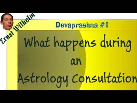 Devaprashna #1: Consulting the Gods - What happens during an Astrology Reading