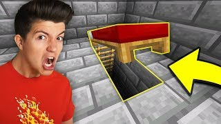 I Found Preston's SECRET ESCAPE Tunnel In Minecraft!