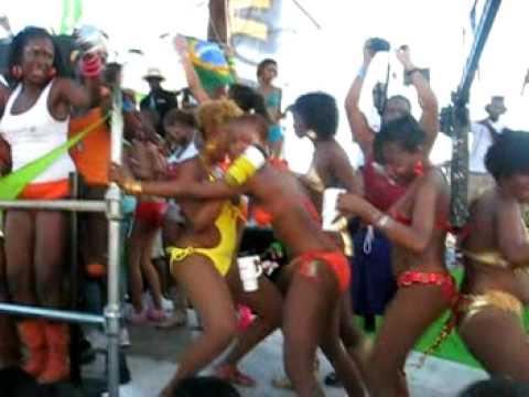 Tribe Monday Mas Clip - Trini Carnival 2k9