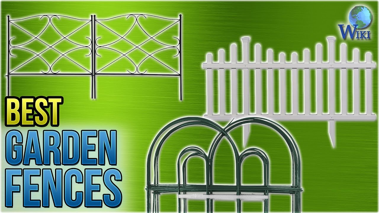 Charmant 10 Best Garden Fences 2018