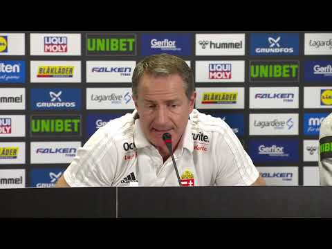 89 NORWAY vs HUNGARY   Press Conference