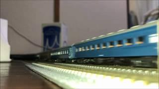 Nゲージ仮想列車 ~流れる速き普通客車~