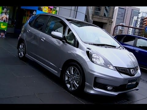2011 Honda Fit Jazz Rs Silver Youtube