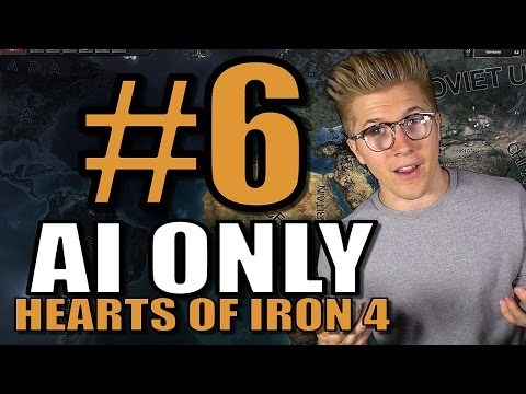 Hearts of Iron 4 - AI ONLY - World War II 1939 [HOI4 Gameplay] Part 6