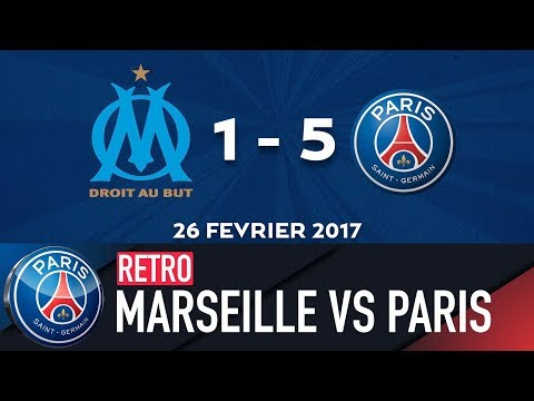RETRO - OLYMPIQUE DE MARSEILLE vs PARIS SAINT-GERMAIN 2017