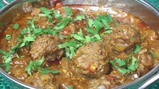 Kofta Curry (meatball Curry) Recipe