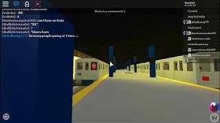 [ROBLOX MTA] (1) AND (3) trains depart
