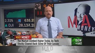 Jim Cramer We had a rally in both Covid-19 and recovery stocks on Wednesday