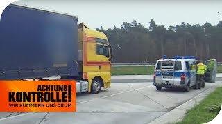 Sonntags Fahren verboten! Halten sich alle LKW daran? | TEIL 2/2 | Achtung Kontrolle | kabel eins