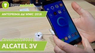 Alcatel 3V - anteprima dal MWC 2018