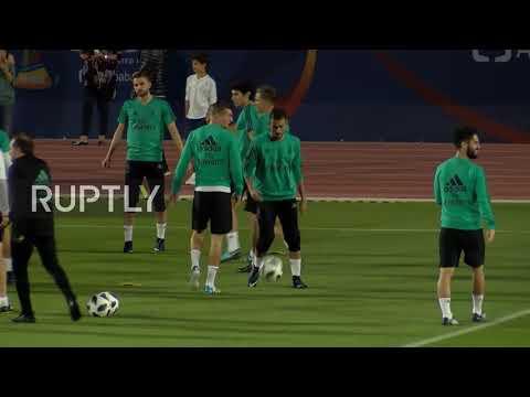 UAE: Ronaldo leads Real Madrid training session ahead of Gremio final
