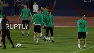 UAE: Ronaldo leads Real Madrid training session ahead of Gremio final