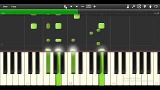 Amr diab Maak alby piano Tutorial تعليم عزف معاك قلبى لعمرو دياب بيانو