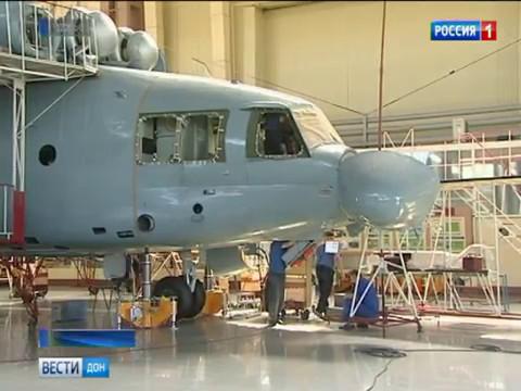 Произведенный в Ростове вертолет Ми-26Т доставил в Арктику негабаритный груз