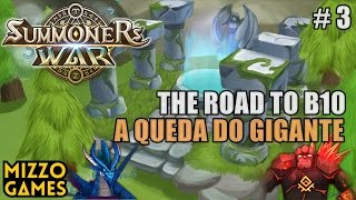 summoners war the road to b10 queda do gigante