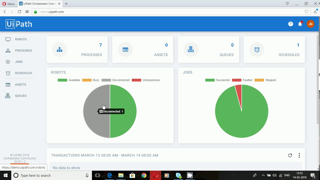 UIPath Orchestrator a quick look