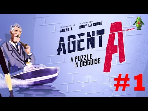 Agent A: A puzzle in disguise iOS Gameplay Walkthrough - Part 1