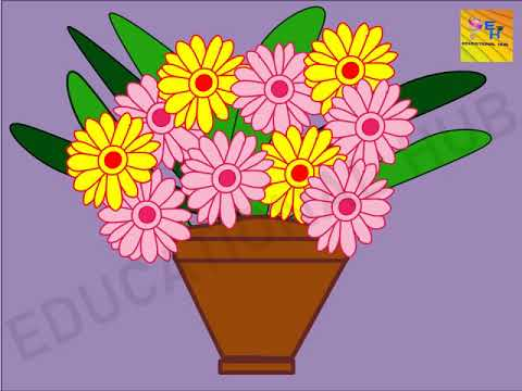 Flower Pot Design Ideas(MS Power Point Drawing & Animation)