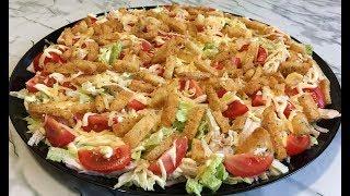 """Праздничный Салат """"Хрустящий"""" Просто, Быстро и Очень Вкусно! / Новогодний Салат 2020 / Crispy Salad"""