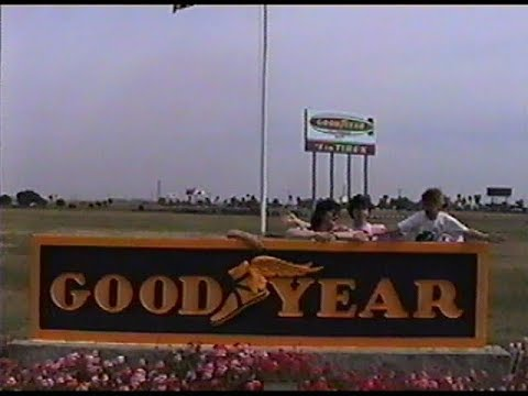 Goodyear Blimp (Eagle N10A) - Girl Scouts 6-4-1994 (TAPE C-21)