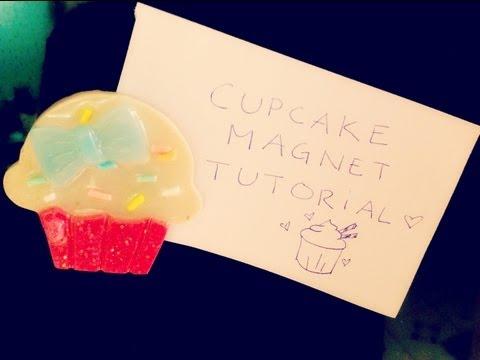 ♥ Resin Cupcake Magnet Tutorial ♥