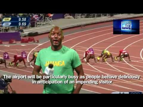 Patois poem for Usain Bolt's visit to Cayman (with subtitles!)
