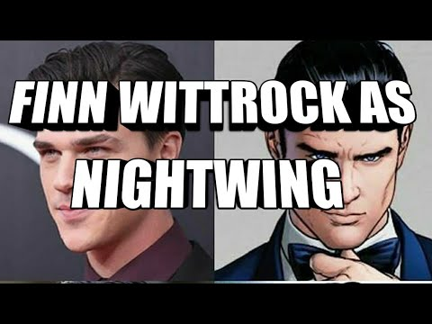 Finn Wittrock looks perfect as Nightwing!