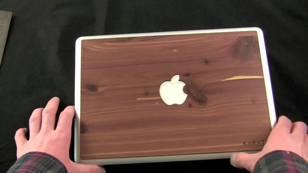 buy popular e8689 0f919 Review: Karvt 100% Real Wood Skins for Macbook, iPhone, iPad, Etc.