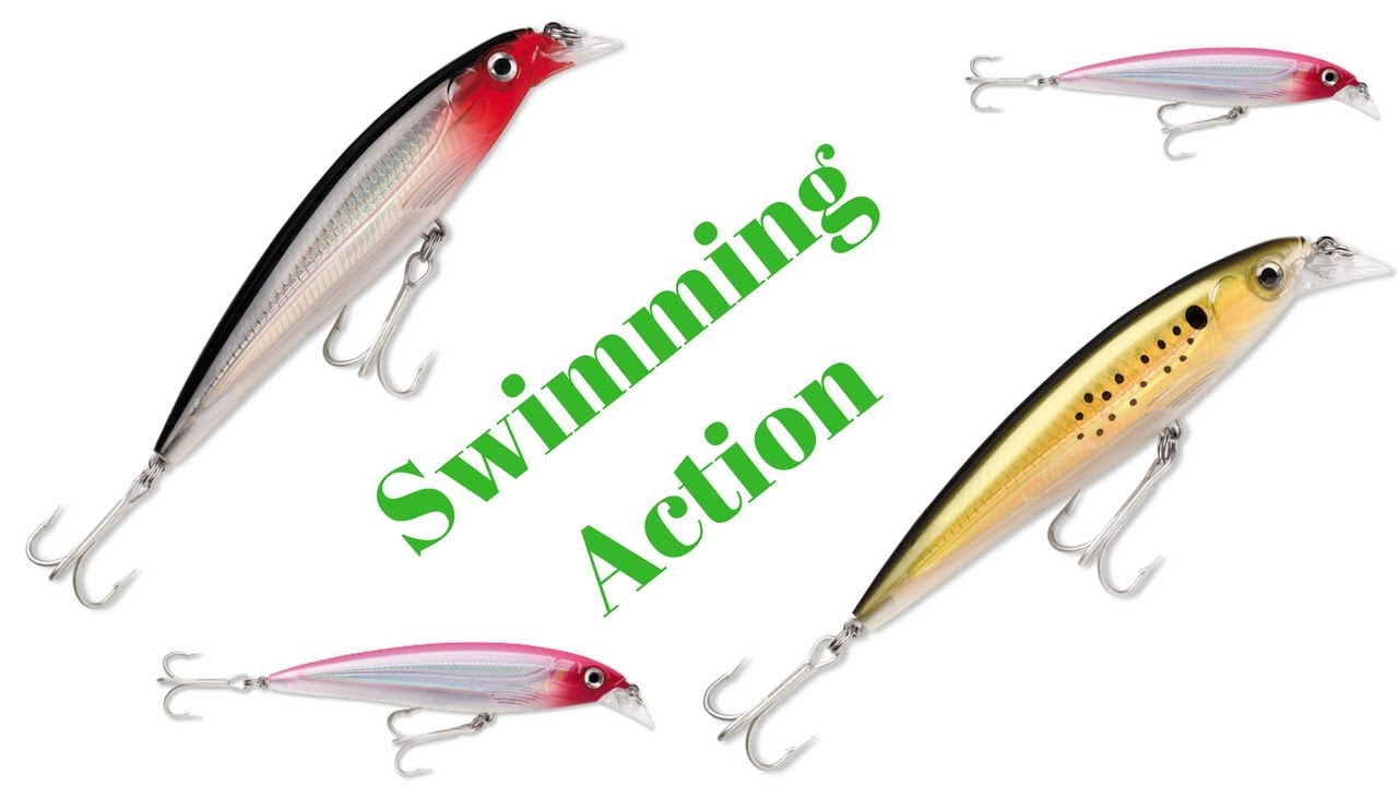 Rapala X-RAP Xtreme Action Slashbait Long Casting Suspending Fishing Lure