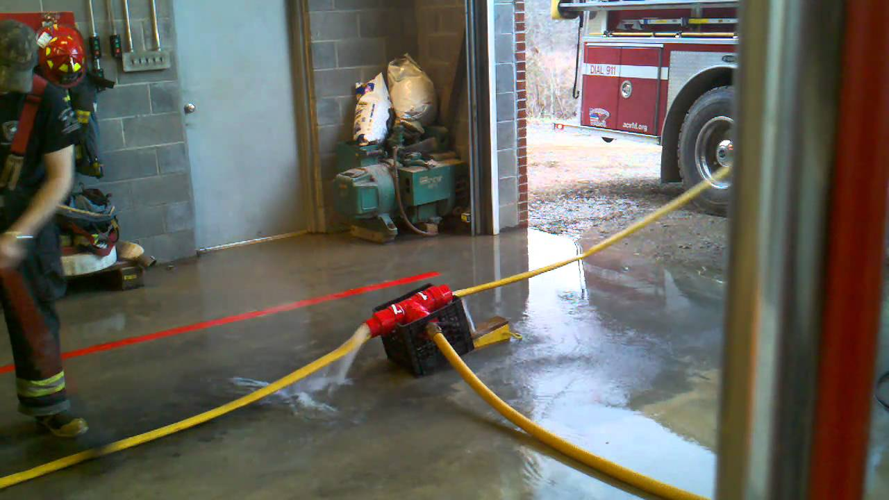Rob, Austin, and I using our homemade hose washer - YouTube