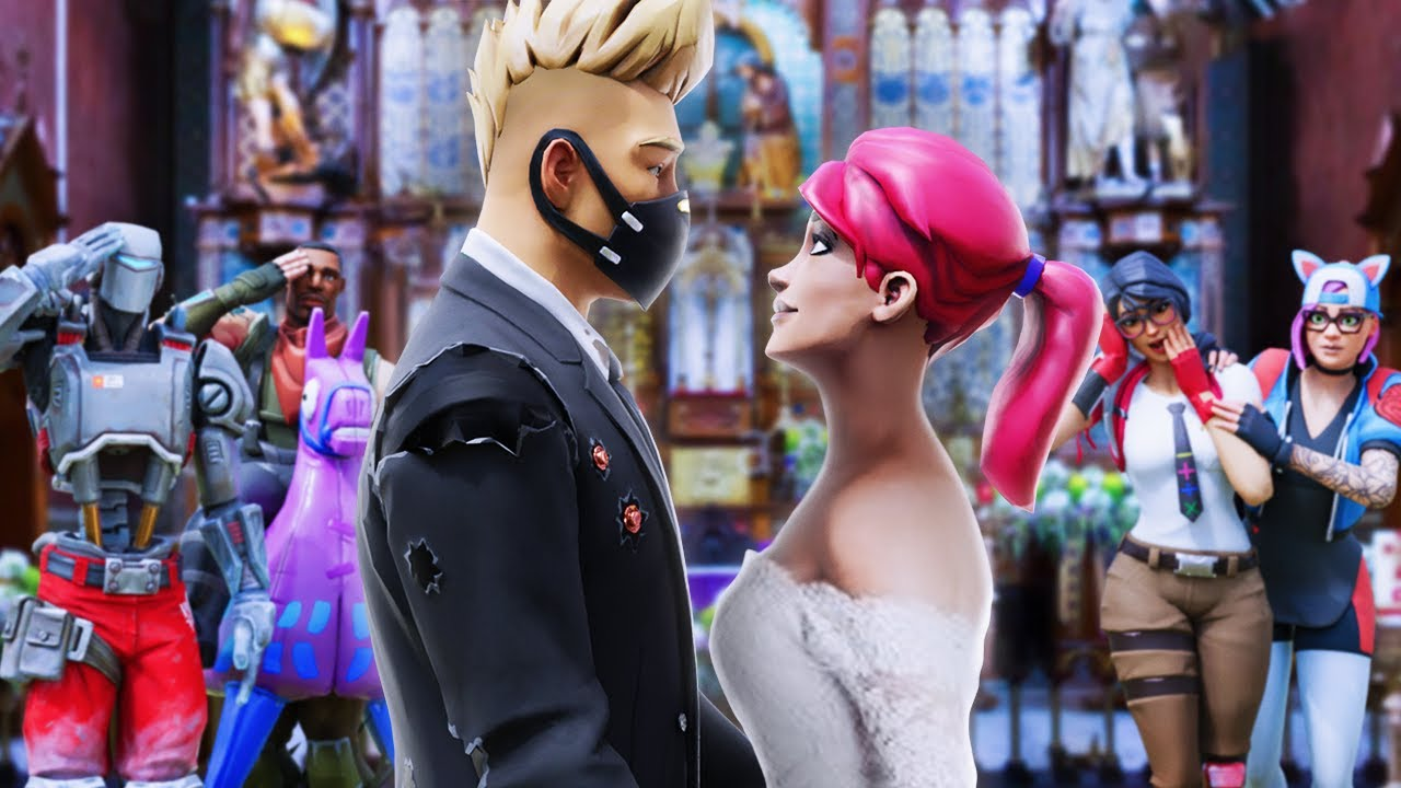 DRIFT AND BRITE GET MARRIED?! (A Fortnite Short Film)