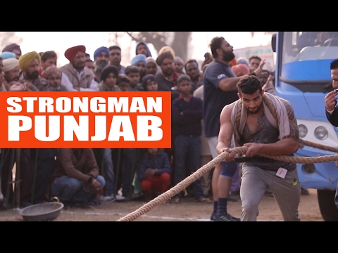 Raw power-  Strongman Punjab