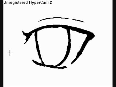 How To Draw An Manga Style Demon Eye