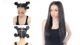 The Vixen Sew In - With Various Hair Styles