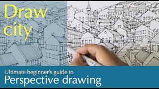 draw a town in perspective....must see