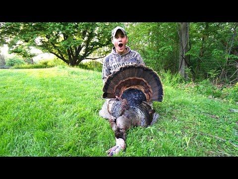 I KILLED MY FIRST TURKEY!!! - Spring Turkey Hunting in Nebraska 2017