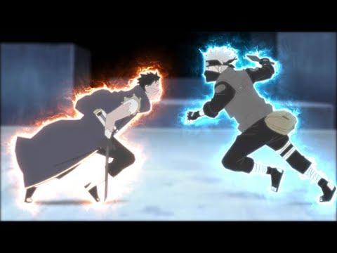 Kakashi vs Obito - Final Fight